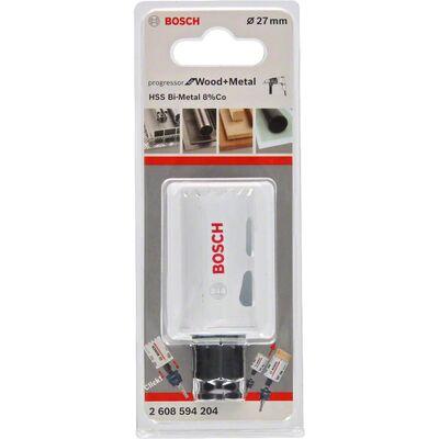 Bosch Yeni Progressor Serisi Ahşap ve Metal için Delik Açma Testeresi (Panç) 27 mm BOSCH