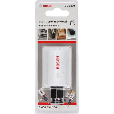 Bosch Yeni Progressor Serisi Ahşap ve Metal için Delik Açma Testeresi (Panç) 30 mm BOSCH