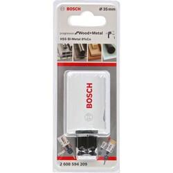 Bosch Yeni Progressor Serisi Ahşap ve Metal için Delik Açma Testeresi (Panç) 35 mm - Thumbnail