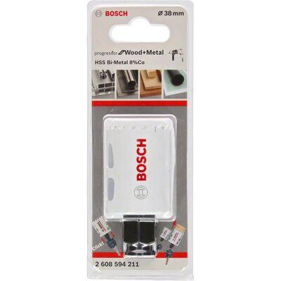Bosch Yeni Progressor Serisi Ahşap ve Metal için Delik Açma Testeresi (Panç) 38 mm BOSCH