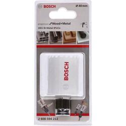 Bosch Yeni Progressor Serisi Ahşap ve Metal için Delik Açma Testeresi (Panç) 40 mm - Thumbnail