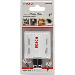 Bosch Yeni Progressor Serisi Ahşap ve Metal için Delik Açma Testeresi (Panç) 44 mm - Thumbnail