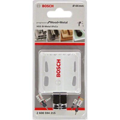 Bosch Yeni Progressor Serisi Ahşap ve Metal için Delik Açma Testeresi (Panç) 44 mm BOSCH