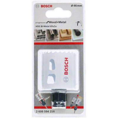 Bosch Yeni Progressor Serisi Ahşap ve Metal için Delik Açma Testeresi (Panç) 46 mm BOSCH
