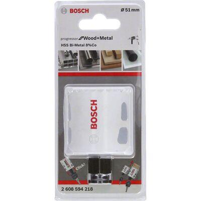 Bosch Yeni Progressor Serisi Ahşap ve Metal için Delik Açma Testeresi (Panç) 51 mm BOSCH