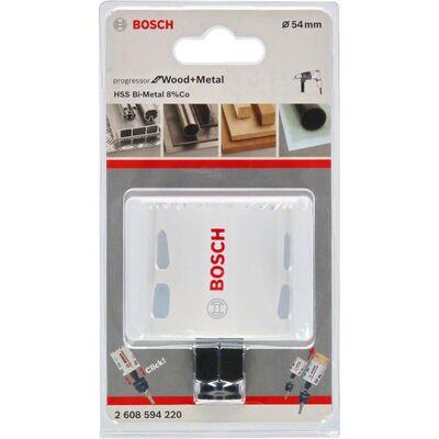 Bosch Yeni Progressor Serisi Ahşap ve Metal için Delik Açma Testeresi (Panç) 54 mm BOSCH