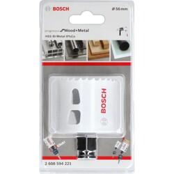 Bosch Yeni Progressor Serisi Ahşap ve Metal için Delik Açma Testeresi (Panç) 56 mm - Thumbnail