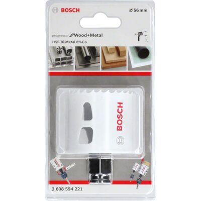 Bosch Yeni Progressor Serisi Ahşap ve Metal için Delik Açma Testeresi (Panç) 56 mm BOSCH
