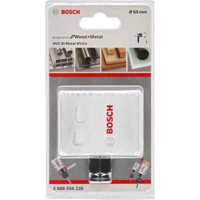 Bosch Yeni Progressor Serisi Ahşap ve Metal için Delik Açma Testeresi (Panç) 65 mm BOSCH