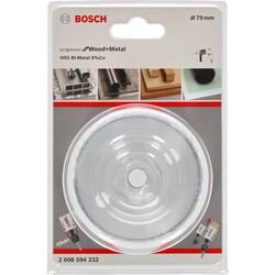 Bosch Yeni Progressor Serisi Ahşap ve Metal için Delik Açma Testeresi (Panç) 79 mm - Thumbnail