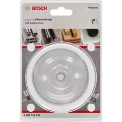 Bosch Yeni Progressor Serisi Ahşap ve Metal için Delik Açma Testeresi (Panç) 86 mm - Thumbnail