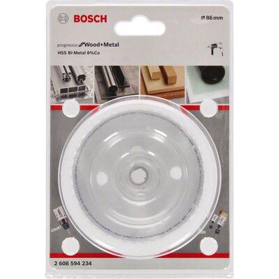 Bosch Yeni Progressor Serisi Ahşap ve Metal için Delik Açma Testeresi (Panç) 86 mm BOSCH