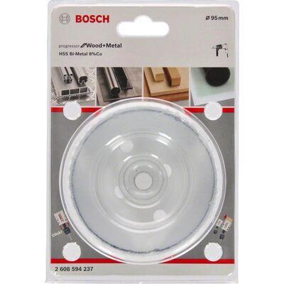 Bosch Yeni Progressor Serisi Ahşap ve Metal için Delik Açma Testeresi (Panç) 95 mm BOSCH
