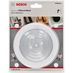Bosch Yeni Progressor Serisi Ahşap ve Metal için Delik Açma Testeresi (Panç) 98 mm - Thumbnail