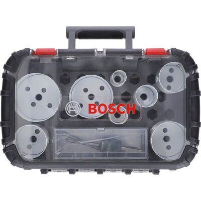 Bosch Yeni Progressor Serisi Delik Açma Testeresi (Panç) Seti 11 Parça Ø 25-32-40-54-60-68-76-86 mm BOSCH