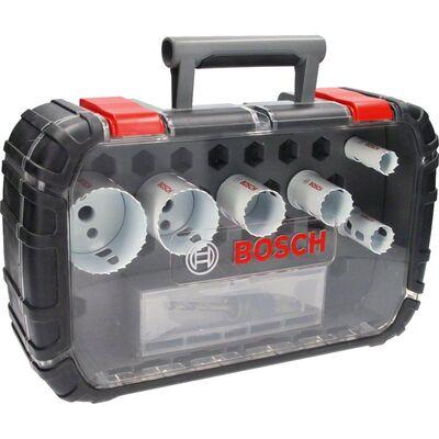 Bosch Yeni Progressor Serisi Delik Açma Testeresi (Panç) Seti 9 Parça Ø 20-25-32-38-51-64 mm