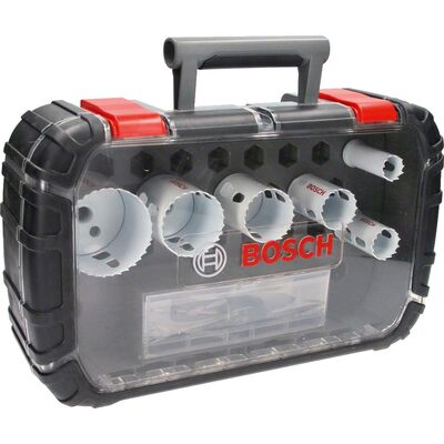 Bosch Yeni Progressor Serisi Delik Açma Testeresi (Panç) Seti 9 Parça Ø 22-29-35-44-51-64 mm