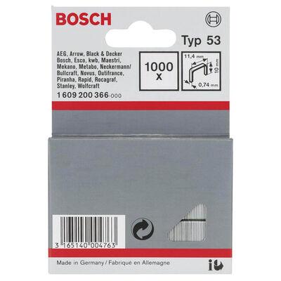 Bosch Zımba Teli Tip 53 11,4*0,74*10 mm BOSCH