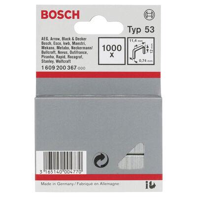 Bosch Zımba Teli Tip 53 11,4*0,74*12 mm BOSCH