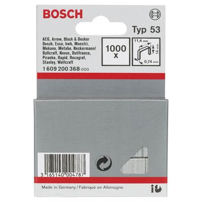 Bosch Zımba Teli Tip 53 11,4*0,74*14 mm BOSCH