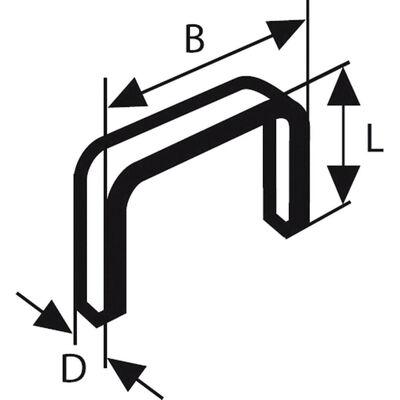 Bosch Zımba Teli Tip 53 11,4*0,74*18 mm