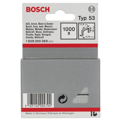 Bosch Zımba Teli Tip 53 11,4*0,74*18 mm BOSCH