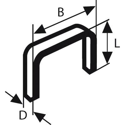 Bosch Zımba Teli Tip 53 11,4*0,74*4 mm
