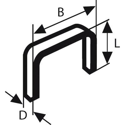Bosch Zımba Teli Tip 53 11,4*0,74*6 mm
