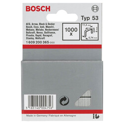 Bosch Zımba Teli Tip 53 11,4*0,74*8 mm - Thumbnail
