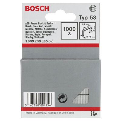 Bosch Zımba Teli Tip 53 11,4*0,74*8 mm BOSCH