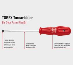 Ceta Form 4100/107M Torex Düz Uçlu Tornavida 12X250Mm - Thumbnail