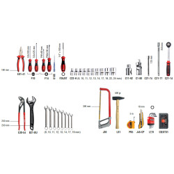Ceta Form A50M-75Ph2 75 Parça Universal Alet Takımı Seti - Thumbnail