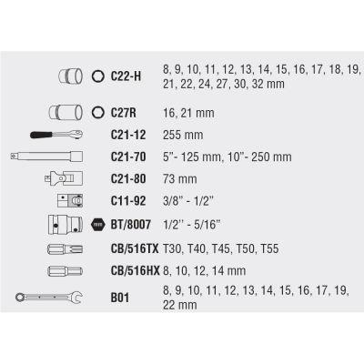 Ceta Form C20-47PH2 47 Parça 1/2