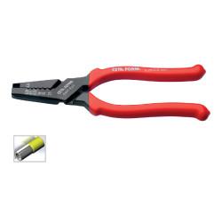 Ceta Form E69F-Es2 Kablo Yüksüğü Sıkma Penseleri (Dövme)0.5-16mm - Thumbnail