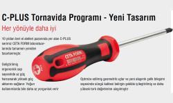 Ceta Form F10 C-Plus Düz Uçlu Tornavida (Kabin Tipi) 10X200Mm - Thumbnail
