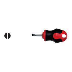 Ceta Form F13-065-025 C-Plus Topaç Düz Uçlu Tornavida 6.5X25Mm - Thumbnail