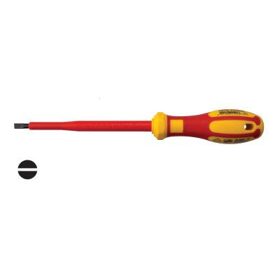 Ceta Form G01-035-100 İzoleli Düz Uçlu Tornavida (Vde) 3.5X100Mm