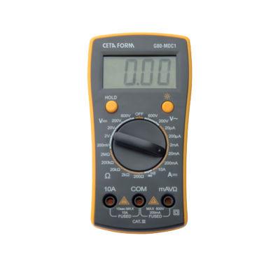 Ceta Form G80-Mdc1 Dijital Multimetre ( Dc-Manuel Sınıflama )