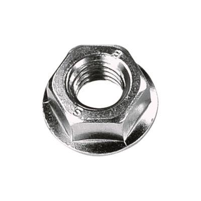 Çetin M10 Din 6923 Flanşlı Çelik Somun Beyaz 100 Adet