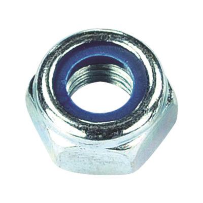 Civtec M10 Din 985 Fiberli Çelik Somun Beyaz 100 Adet