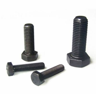 Civtec M12X45 Din 933 8.8 Kalite Akb Çelik Cıvata Siyah 30 Adet Civtec