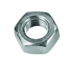 Civtec M20 Din 934 Altı Köşe Somun Çelik Beyaz 25 Adet - Thumbnail