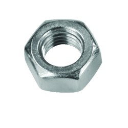 Civtec M30 Din 934 Altı Köşe Somun Çelik Beyaz 30 Adet - Thumbnail