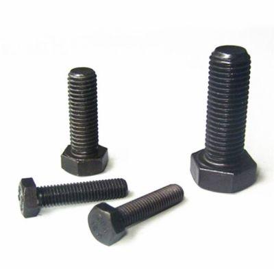 Civtec M6X80 Din 933 8.8 Kalite Akb Çelik Cıvata Siyah 50 Adet Civtec