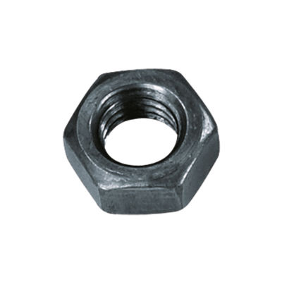 Civtec M8 Din 934 Altı Köşe Somun Çelik Siyah 150 Adet