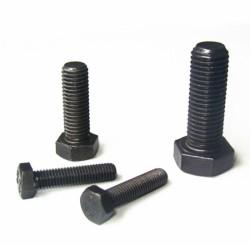 Civtec M8X40 Din 933 8.8 Kalite Akb Çelik Cıvata Siyah 100 Adet - Thumbnail