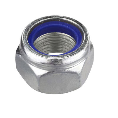Civtec M12X1.50 Din 985/F İd. Fiberli Çelik Somun Beyaz 50 Adet