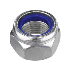 Civtec M18 Din 985 Fiberli Çelik Somun 10Klt Beyaz 20 Adet - Thumbnail