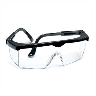 Eltos EAG 001 Beyaz Ayarlı Koruyucu Gözlük - Ce Belgeli - Şeffaf