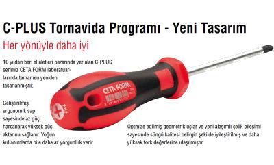 Ceta Form F99-502 5 Parça C-Plus Tornavida Takımı - Düz Ceta Form